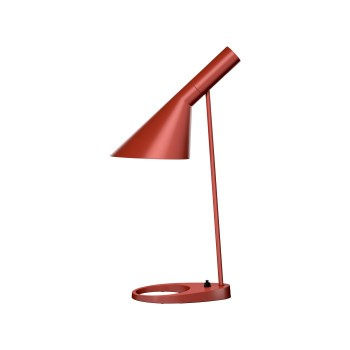 AJ Bordlampe rustrød V2