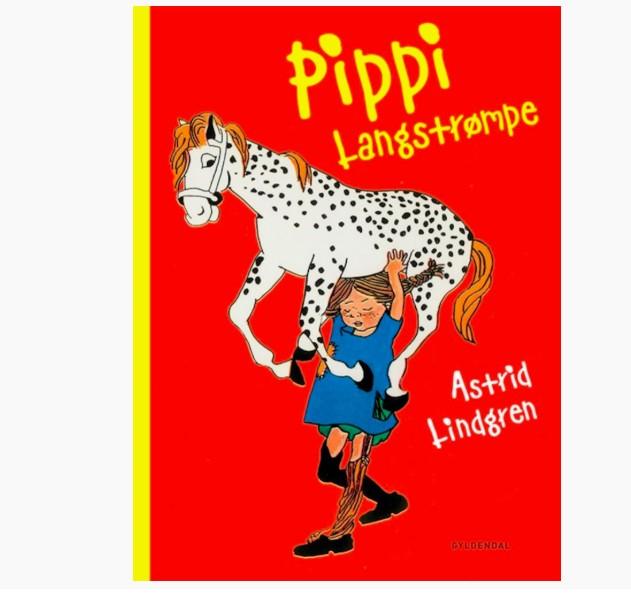 """""""Pippi Langstrømpe"""" af Astrid Lindgren"""