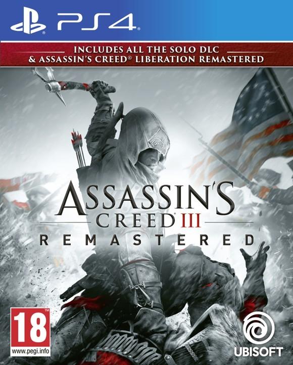 Assassin's Creed III (3) + Liberation HD Remaster – PlayStation 4