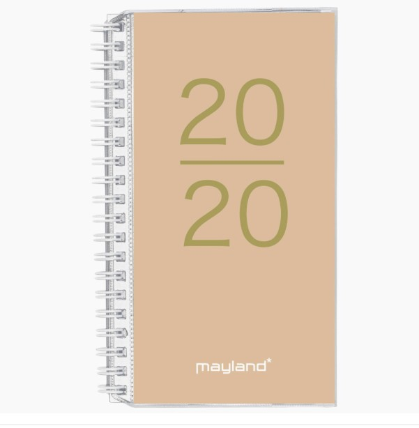 Week planner 4 illu. fsc mix 2020 mayland